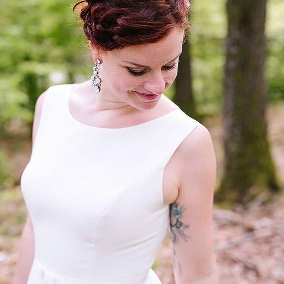 Hochzeits-Make-Up Braut und Trauzeugin