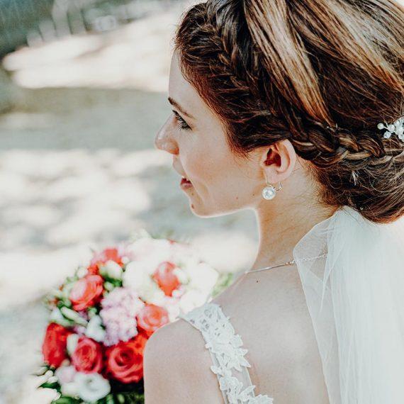Typgerechte Brautfrisur