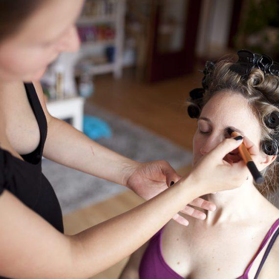 Make-Up für den schönsten Tag