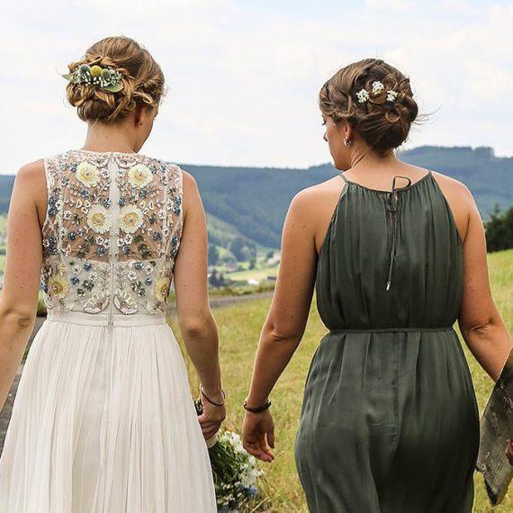 Haare und Make Up zur Hochzeit von Sofie Bär, Siegen