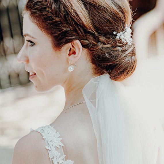 Brautfrisur nach Wunsch